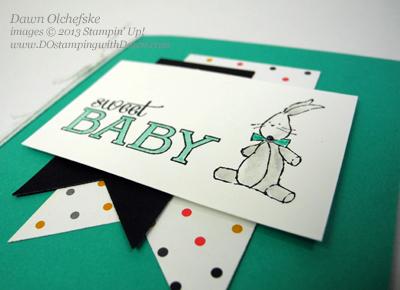 #2014occasionscatalog, #babywevegrown, #kaleidoscopedsp, #babycard, #bannerframelits, #stampinup, #dostamping