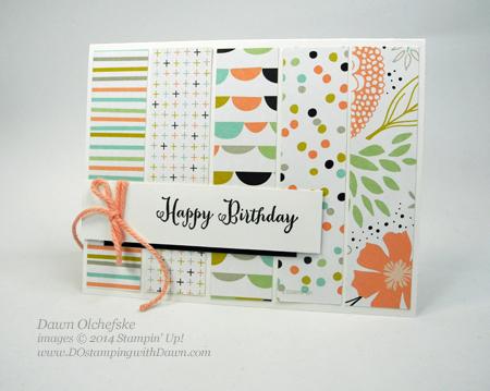 #cardmaking  #dawnolchefske #diy #dostamping #stampinup #DOstamperSTARS #ThursdayChallenge #SAB2014 #sweetsorbet