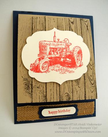 #dostamping #stampinup #cardmaking #birthday #diy #dostamperSTARS #HarvestBlessings