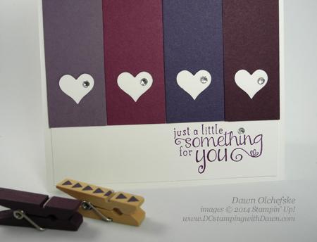 #dostamping #stampinup #dawnolchefske #2014incolor #craftsupplies #diy #cardmaking #BlackberryBliss