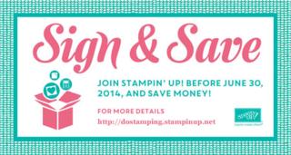 #Stampinup #dostamperSTARS #dostamping #joinstamping #signandsave