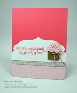 #dostamping #stampinup #cupcakebuilderpunch #birthday #cardmaking #diy
