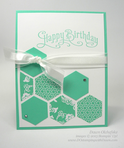 #dostamping, #stampinup, #perfectlypenned, #hexagonpunch, #papercrafting, #diy, #cardmaking