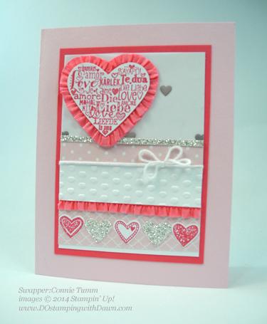 #connietumm, #cardmaking, #dawnolchefske, #dostamping, #papercrafting, #stampinup, #valentinesdaycards