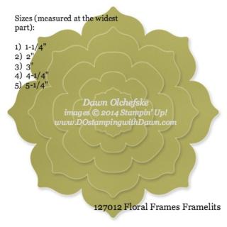 #floralframesframelits, #dostamping, #dawnolchefske, #stampinup, #bigshot, #framelitsizes, #framelits, #papercrafting, #cardmaking