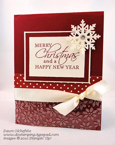 #dostamping #dawnolchefske #bigshot #tief #christmas #cardmaking