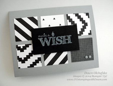#quick and cute #masculine #birthday #cardmaking #stampinup #dostamping #dawnolchefske #kaleidoscope