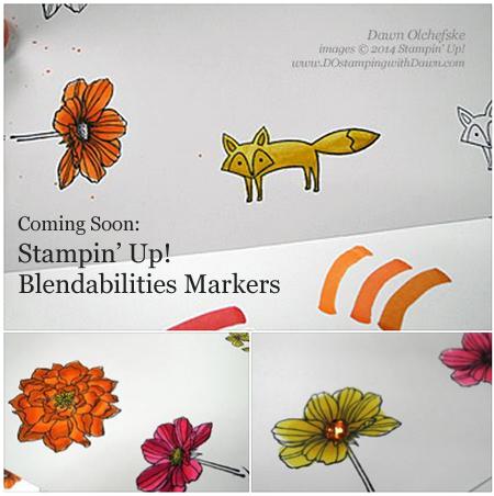 #dostamping #stampinup #dawnolchefske #blendabilities #UniteExcite