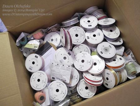 #stampinup #dostamping #dawnolchefske #productshare #ribbon