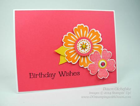 #cardmaking, #dawnolchefske, #diy, #dostamping,#mixedblossom #flowershop #stampinup