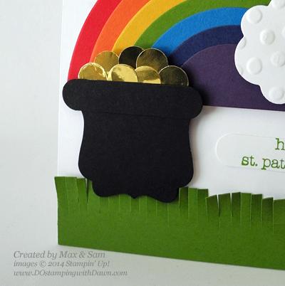 #dostamping #stampinup #dawnolchefske #stpatricksday #rainbow #bigshot #kids #cardmaking