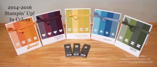 #dostamping #stampinup #dawnolchefske #2014incolor #craftsupplies #diy #cardmaking