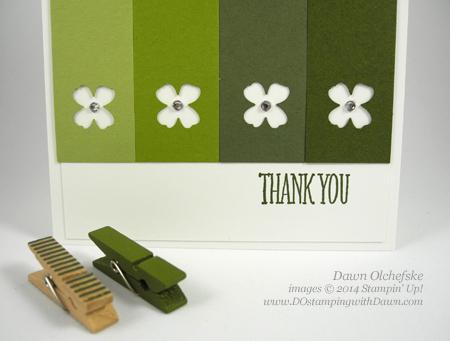 #dostamping #stampinup #dawnolchefske #2014incolor #craftsupplies #diy #cardmaking #MossyMeadow