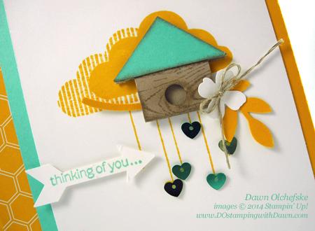 #dostamping #stampinup #birdhouse #punchart #howdshedothat #cardmaking #diy #dawnolchefske #whatsup