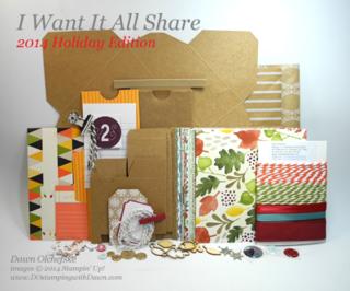 dostamping, dawn olchefske, 2014 Holiday Catalog Shares, stampin up