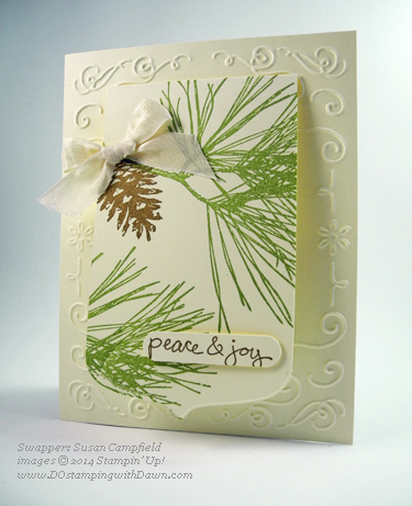 #dostamping #stampinup #2014HolidayCatalog #christmas #diy #cardmaking made by Susan Campfield
