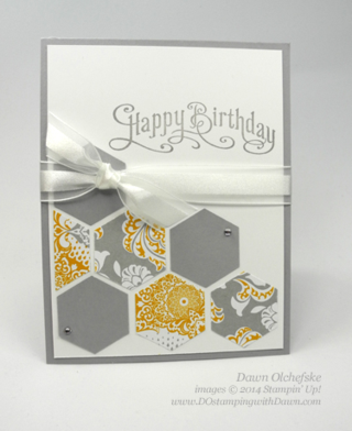 #cardmaking, #diy, #dostamping, #hexagonpunch, #papercrafting, #perfectlypenned, #stampinup
