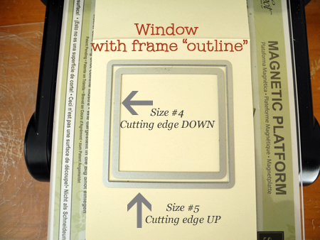 How to make a window card with square framelit trick Dawn Olchefske, dostamping  #DSC107 #cardmaking  #stampinup
