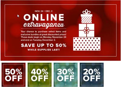 Stampin' Up! Online Extravaganza Sale