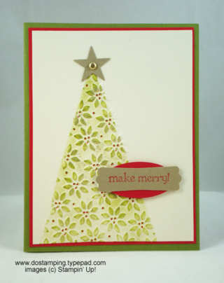 Stampin' Up, Petals a Plenty Textured Embossing Folder, Dawn Olchefske, #DOstamping, Christmas Cards