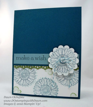 stampin up, dostamping, dawn olchefske, demonstrator, reason to smile, sweet essentials