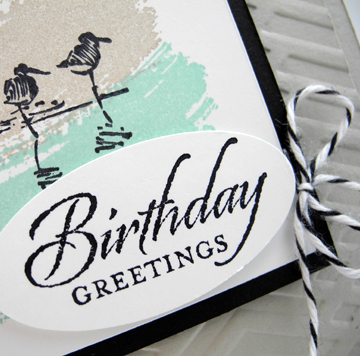 Masculine Wetlands card designed by Dawn Olchefske for Just Card Buffet Class #dostamping #stampinup