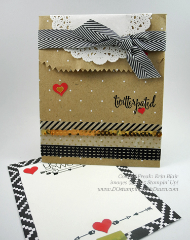 Stampin' Up! Occasions Catalog Swap cards share by Dawn Olchefske, #dostamping #love (Erin Blair)