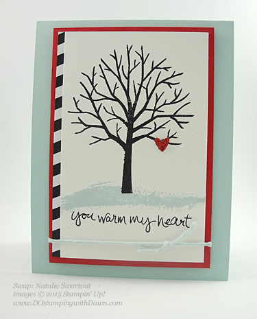Stampin' Up! Occasions Catalog Swap cards share by Dawn Olchefske, #dostamping #love (Natalie Swartout)