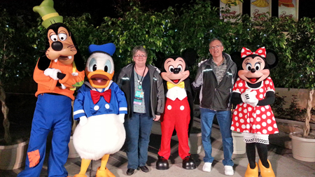 Disney gang, Dawn Olchefske 2015 Leadership Conference #stampinup