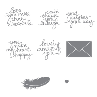 NEW Lovely Amazing You Photopolymer Stamp Set #dostamping #stampinup
