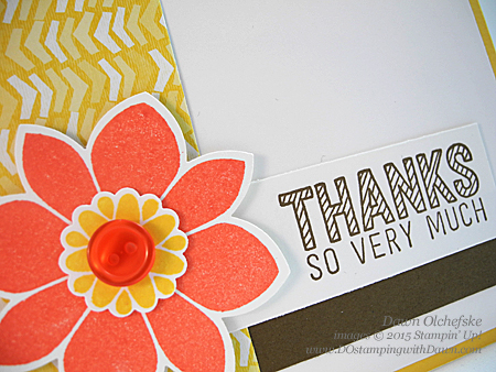 Petal Potpourri Bundle card created by Dawn Olchefske for DOstamperSTARS Thursday Sketch Challenge #DSC121 #dostamping #stampinup