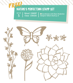 Natures Perfection-new SAB products for March #dostamping #stampinup