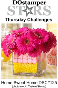 DOstamperSTARS Thursday Challenge DSC#125 #dostamping #stampinup