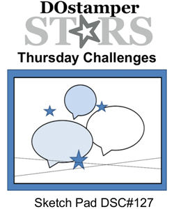 DOstamperSTARS Thursday Challenge Sketch DSC#127 #dostamping #stampinup