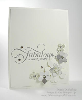 2015 Weekly Deal April 14 with Pansy Punch by Dawn Olchefske #dostamping #stampinup
