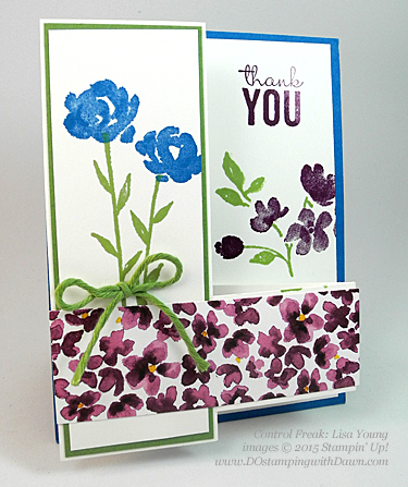 Painted Petals swaps shared by Dawn Olchefske #dostamping #stampinup (Lisa Young)