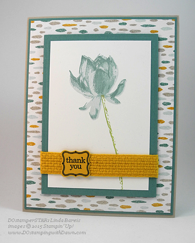 DOstamperSTAR card shared by Dawn Olchefske #dostamping #stampinup (Linda Bareis)