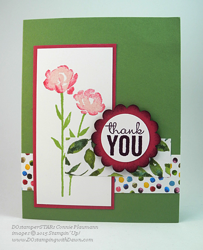 DOstamperSTAR card shared by Dawn Olchefske #dostamping #stampinup (Connie Plaumann)