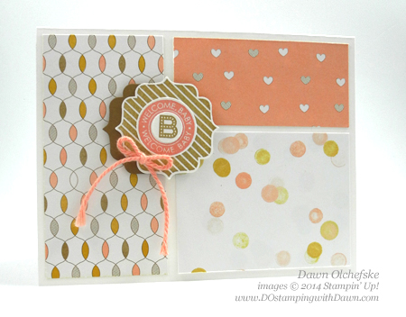 Lullaby DSP Baby Cards shared by Dawn Olchefske #dostamping #stampinup