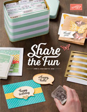 2015-2016 Stampin' Up! Annual Catalog is here!  Shop with Dawn Olchefske #dostamping #stampinup