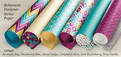 138446-Bohemian Designer Series Paper