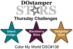 DOstamperSTARS Thursday Challenge #138 #dostamping #stampinup