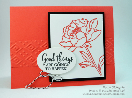 You've Got This Quick and Cute Card by Dawn Olchefske #dostamping #stampinup