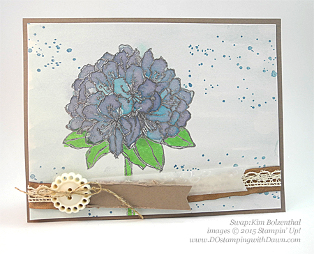Best Thoughts swap cards shared by Dawn Olchefske #dostamping #stampinup, Kim Bolzenthal