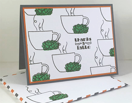 Thanks a Latte Paper Pumpkin alternate project shared by Dawn Olchefske #dostamping #stampinup