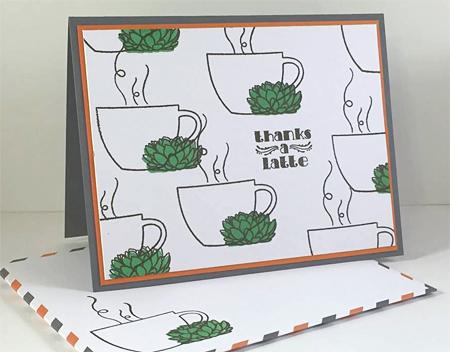 Thanks a Latte Paper Pumpkin alternate project shared by Dawn Olchefske #dostamping #stampinup