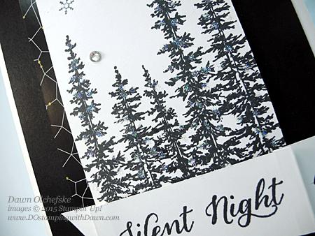 NEW Holiday Catalog stamp set, Wonderland card shared by Dawn Olchefske for DOstamperSTARS Thursday Challenge DSC#142 #dostamping #stampinup