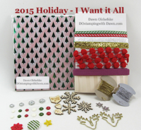 2015 Holiday Catalog Shares offered by Dawn Olchefske #dostamping #stampinup