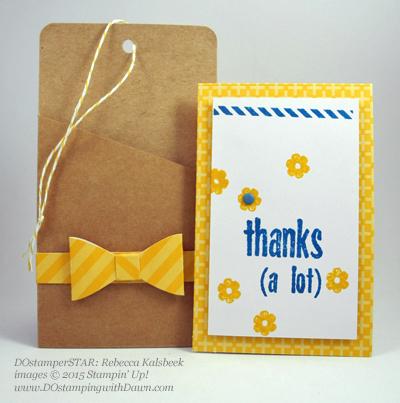 Paper Pumpkin card shared by Dawn Olchefske #dostamping #stampinup (Rebecca Kalsbeek)