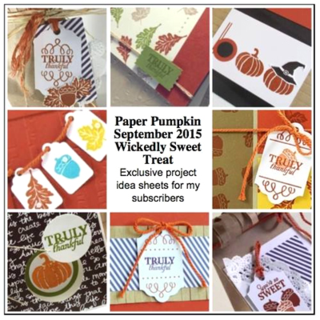 Sep2015 Wickedly Sweet Treat Paper Pumpkin alternate ideas bonus offered by Dawn Olchefske  #dostamping #stampinup